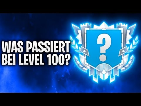 WAS PASSIERT BEI LEVEL 100? LIVESTREAM! 🔴 | Fortnite: Battle Royale