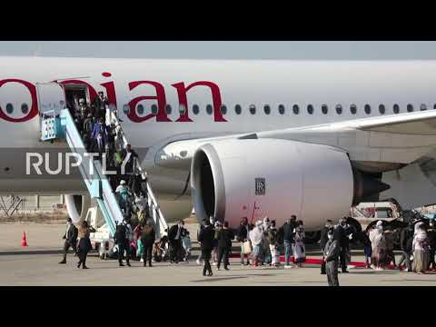 Israel: Netanyahu Welcomes Hundreds Of Ethiopian Immigrants At Airport