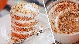 МОРКОВНЫЙ ТОРТ ЗА 5 МИНУТ без духовки морковный кекс пирог в кружке простой рецепт без яиц