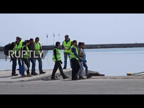 Greece: Dozens of refugees deported to Turkey under EU-Turkey deal