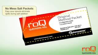 Комплект для пробоподготовки по методу roQ QuEChERS(QuEChERS (Quick, Easy, Cheap, Effective, Rugged, and Safe - Быстро, Просто, Дёшево, Эффективно, Надежно и Безопасно) - быстрый и эффекти..., 2015-09-10T09:11:25.000Z)