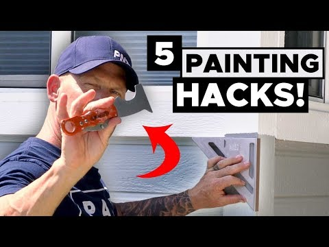 5 INCREDIBLE HACKS Every Painter Should Use!