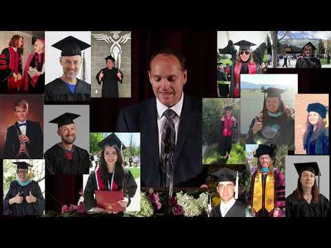 Granite Connection High School Virtual Graduation May 2020