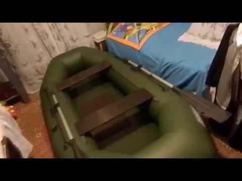 Обзор резиновой лодки омега-21 с надувным дном - YouTube