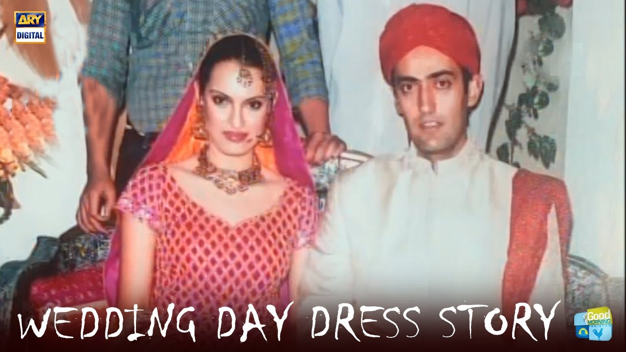 A Historical Story Behind Nadia Hussain's Wedding Dress