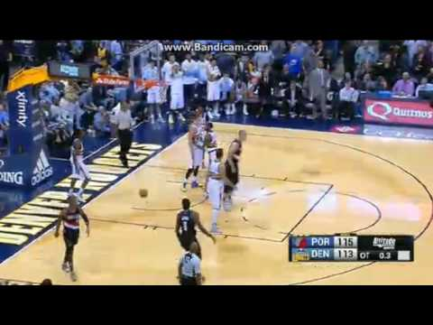 Damian Lillard Game-Winner! - Denver Nuggets vs. Portland Trail Blazers - NBA - 29/10/2016