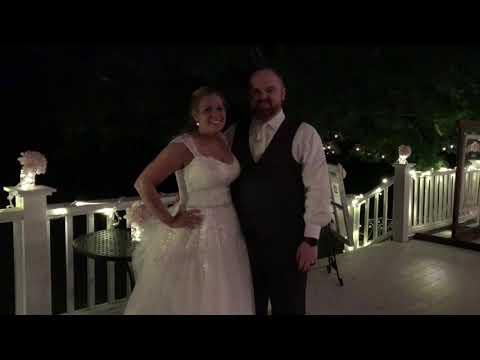 Music Man Entertainment Wedding Testimonials | Ali & Alex | 07/07/18 | The Appel Inn | Altamont, NY