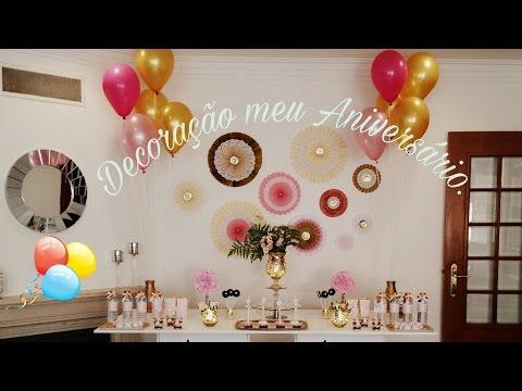 Decoração Festa De Aniversário Barato E Simples Youtube