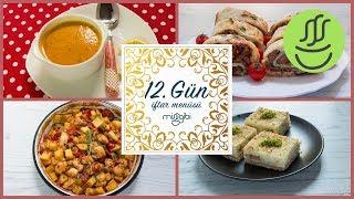 Ramazan 12. Gün İftar Menüsü: Fırında Tavuk - Lahmacun Böreği - Mercimek Çorbası - İrmik Tatlısı