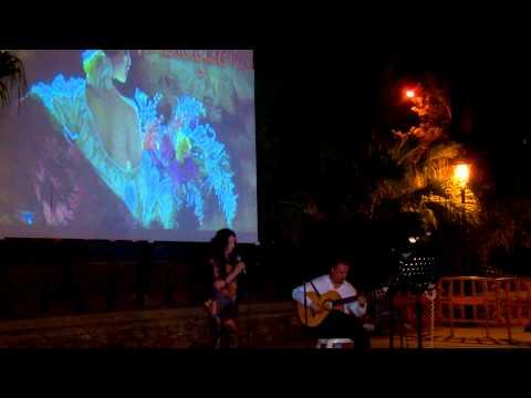 Recital poético Foro de la Luna Llena  2013 (Nerja)