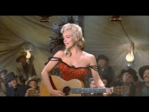 "Marilyn Monroe In ""River Of No Return"" - ""One Silver Dollar"""