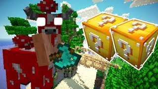 MINOSHROOM VS. LUCKY BLOCK (MINECRAFT LUCKY BLOCK CHALLENGE MINOTAURO)