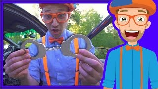 Police Cars for Children with Blippi | Educational Videos for Kids