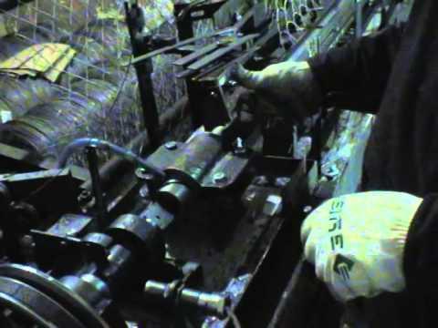 Настройка станка автомата для производства сетки рабицы АРС-10