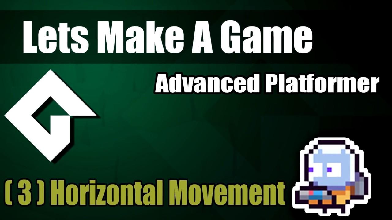 GMS 2 - Full Featured Advanced Platformer Series | GameMaker