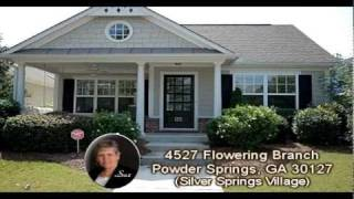Sue Hilton Presents This Cottage Style Powder Springs, GA Home in Narrated Video!