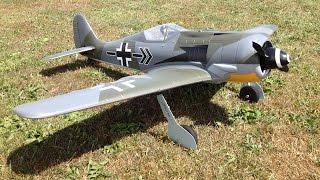 Parkzone FW-190 BNF Basic RC Plane - Focke-Wulf 190A-8 WWII RC Warbird