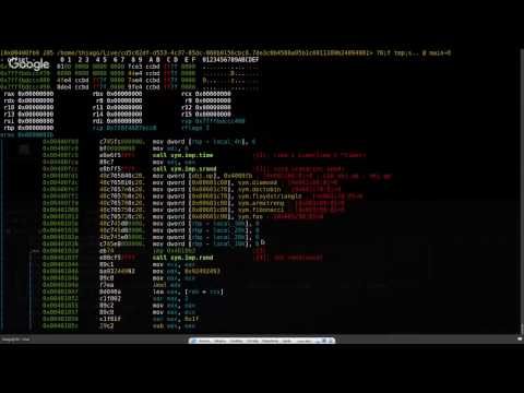Radare2 - unix-like reverse engineering framework (Overview) part2