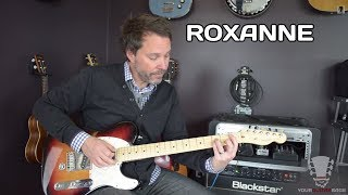 How to Play Roxanne The Police Guitar Lesson