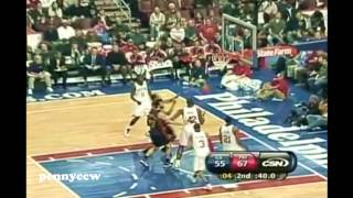 NBA Greatest Duels: Allen Iverson Vs Stephen Curry (2010) *AI Schools Young Curry