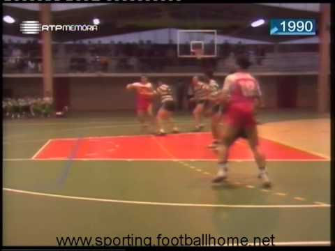 Andebol :: 19J :: Clube Tap - 17 x Sporting - 25 de 1989/1990
