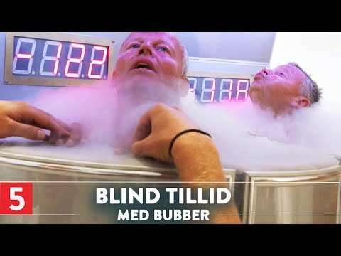 Bubber Frozen Down to Minus 170 Degrees  Kanal 5  Denmark