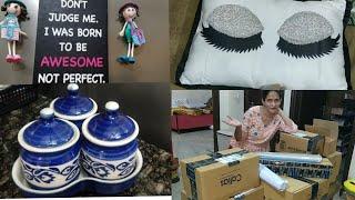 Amazon Haul/Amazon Home Decor and Kitchen Shopping Haul/Unboxing & Review/Indian Vlogger Manisha