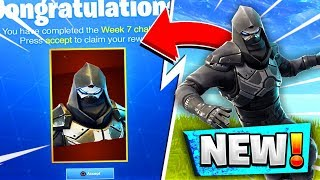 *NEW* RELEASED ENFORCER ROAD TRIP SKIN! WEEK 7 CHALLENGE SKIN IN FORTNITE BATTLE ROYALE