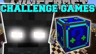 Minecraft: WITHER SKELETON TITAN CHALLENGE GAMES - Lucky Block Mod - Modded Mini-Game