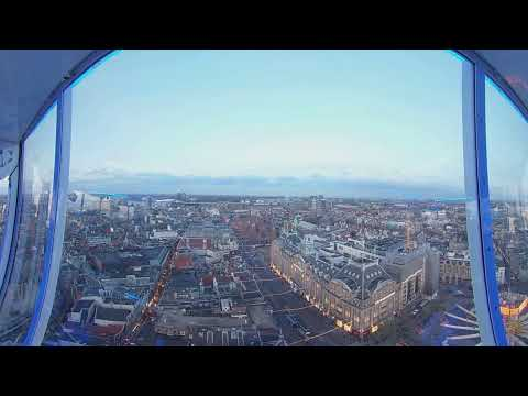 Aerial View of Amsterdam Dam Square, the Netherlands #Theta360 #VirtualReality Tour