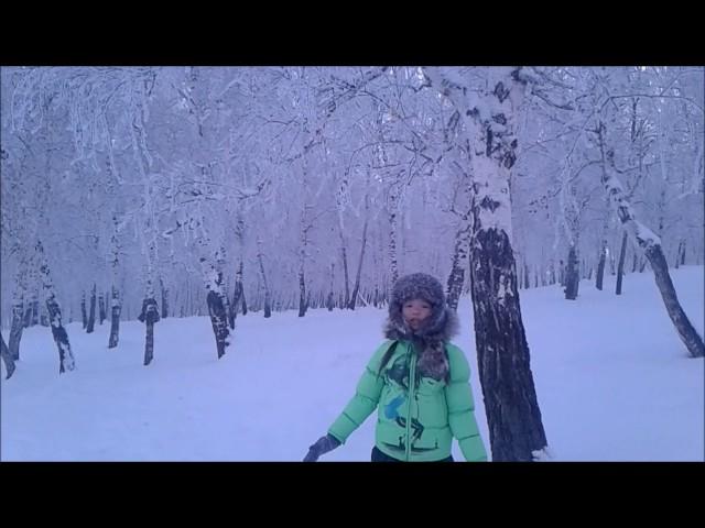 Изображение предпросмотра прочтения – ВероникаРыгзынова читает отрывок изпроизведения «Мороз, Красный нос» Н.А.Некрасова
