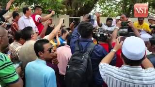 Protest staged against Guan Eng
