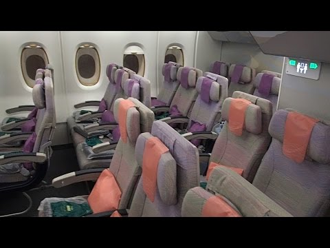 Emirates Flight EK418 A380 Bangkok to Sydney Economy