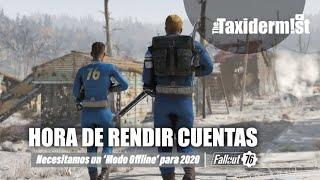 Urge un 'Modo Offline' para 2020   Fallout 76