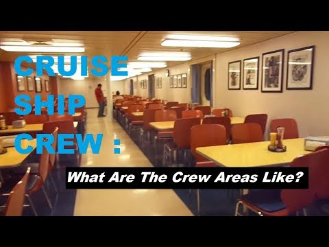 Where Does The Crew Live On A Cruise Ship