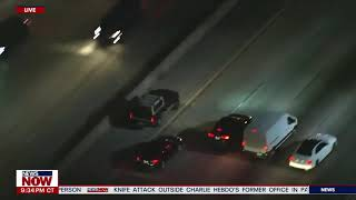 CAR CHASE: Reckless Driver Leads Police on Pursuit Down L.A. Freeway
