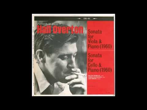 Hall Overton - Sonata for Cello & Piano (1960)