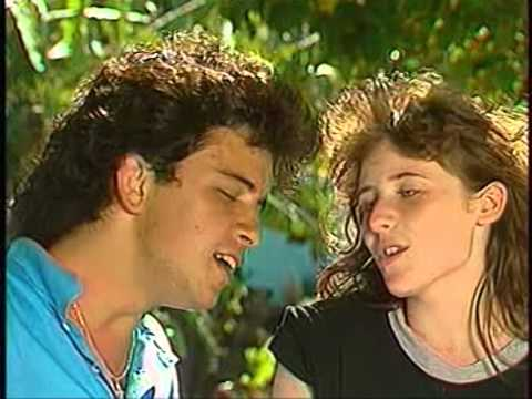Glenn Medeiros & Elsa Lunghini - Un Roman  D'amitié Discos D'or 28/08/1988 France 3