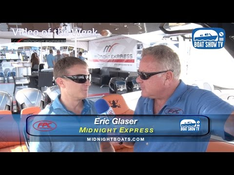 Midnight Express 39 S Open Fort Lauderdale Boat Show With Stu Jones