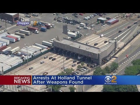 Holland Tunnel Weapons Arrests