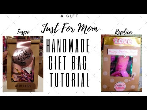 DIY Easy Mother Day Gift Bag | Create With Me
