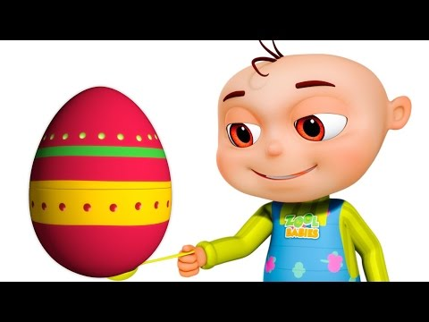 Five Little Babies Playing Egg & Spoon | Zool Babies Fun Songs | Videogyan 3D Rhymes