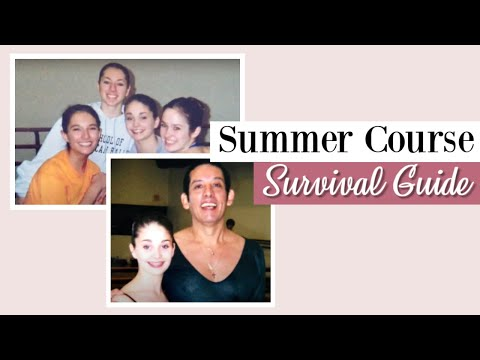 Ballet Summer Course Survival Guide | Kathryn Morgan