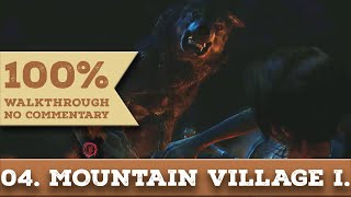 Tomb Raider 2013 Walkthrough [1440p] (100% Completion,Hard) part 4 MOUNTAIN VILLAGE - FIRST VISIT