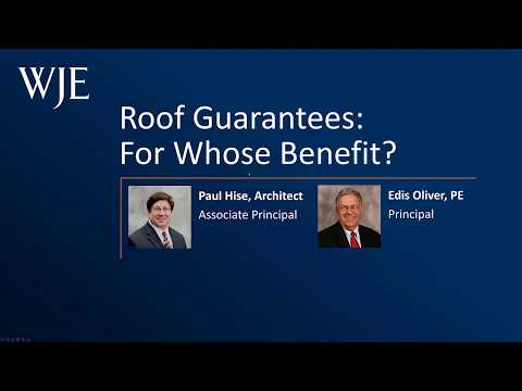 Roof Guarantees For Whose Benefit Youtube