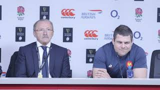 Jacques Brunel & Guilhem Guirado reflect on England defeat