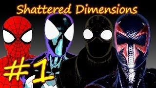 Прохождение Spider-man Shattered Dimensions эпизод 1