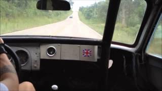 Testando DKW Belcar de corrida