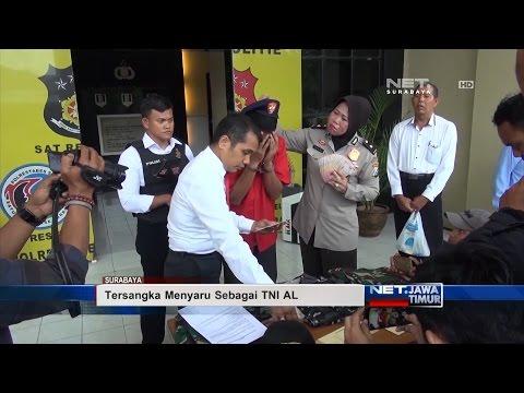 NET. JATIM - KASUS PENIPUAN TNI GADUNGAN