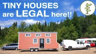 Finally A Town Where Living In A Tiny House Is Legal!